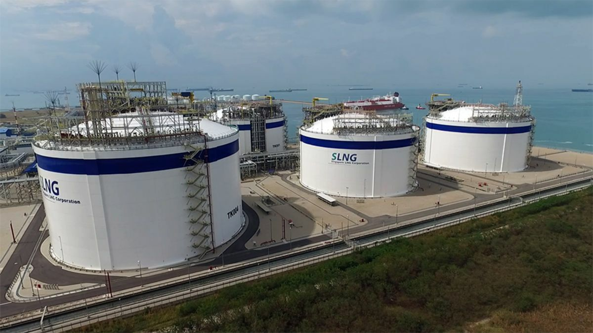 With its largest LNG storage tank to date, Singapore now has 800,000 m3 in capacity