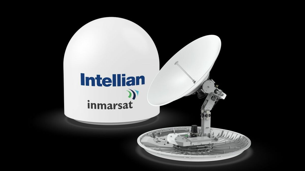 Intellian's GX100NX antenna was tested and approved by Inmarsat for Global Xpress
