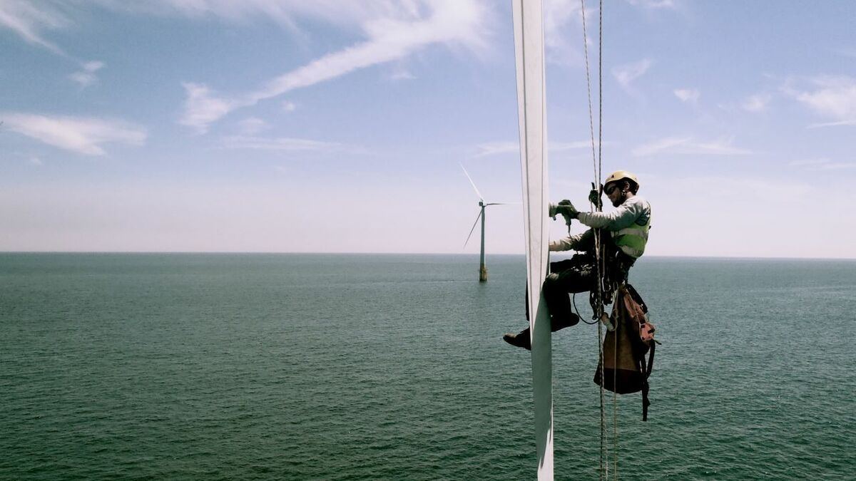 Large numbers of people need to be recruited to work in offshore wind but there is stiff competition