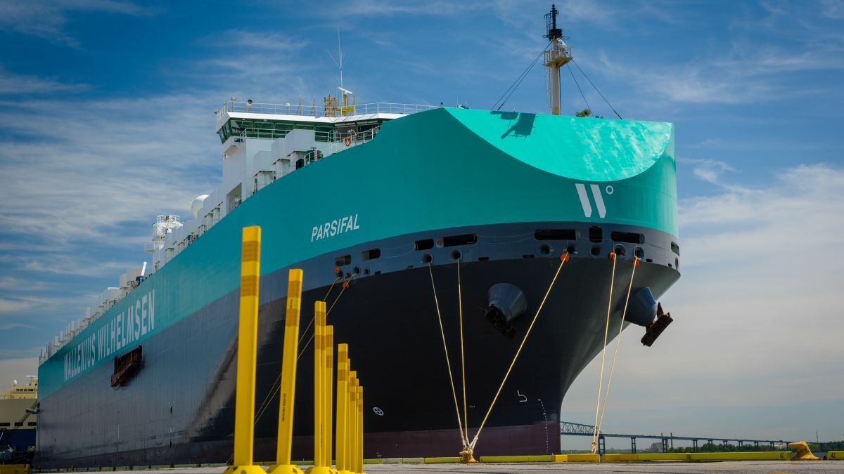 Tests on roro vessels highlighted the importance of sensor placement (image: Wallenius Wilhelmsen)