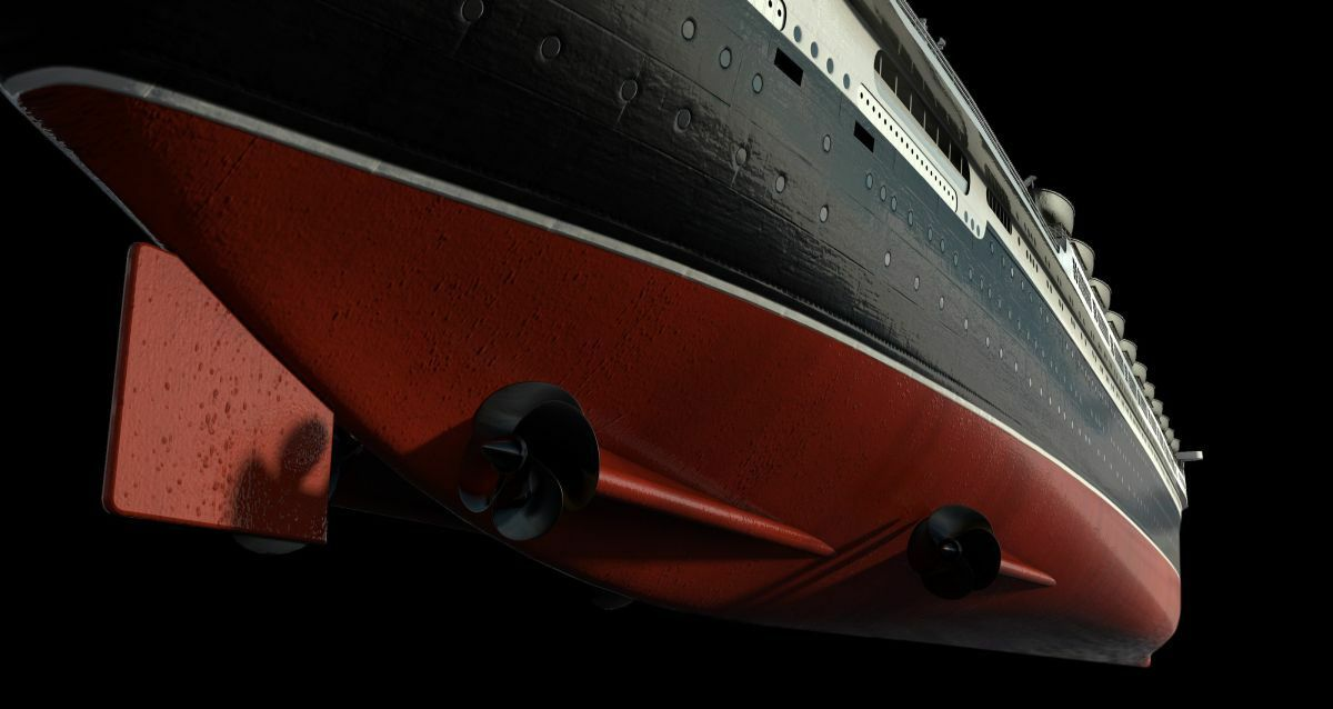 A clean hull-fouled propeller showed a 22.2% decrease in propulsive efficiency