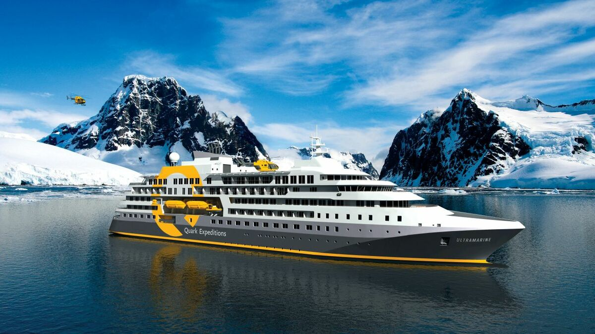 Ultramarine will carry 200 passengers to Arctic regions from 2021 (credit: Quark Expeditions)