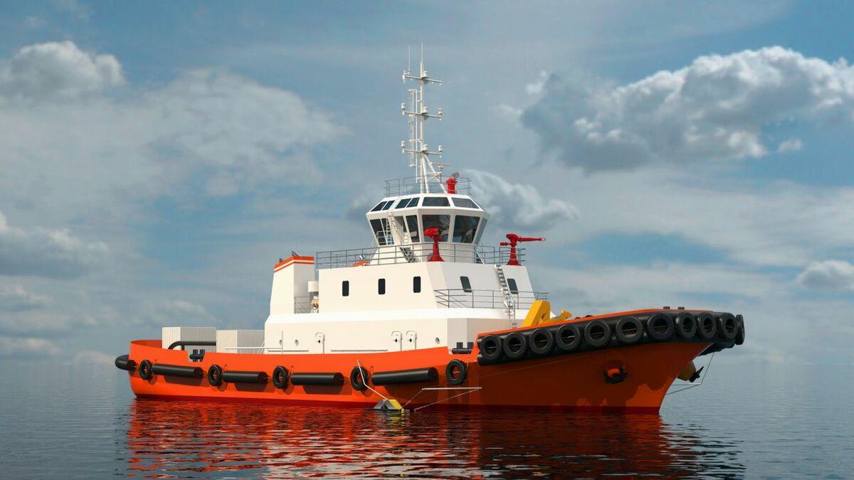 Tongfang Jiangxin shipyard is building a tug for Taizhou Maritime Safety (source: Schottel)