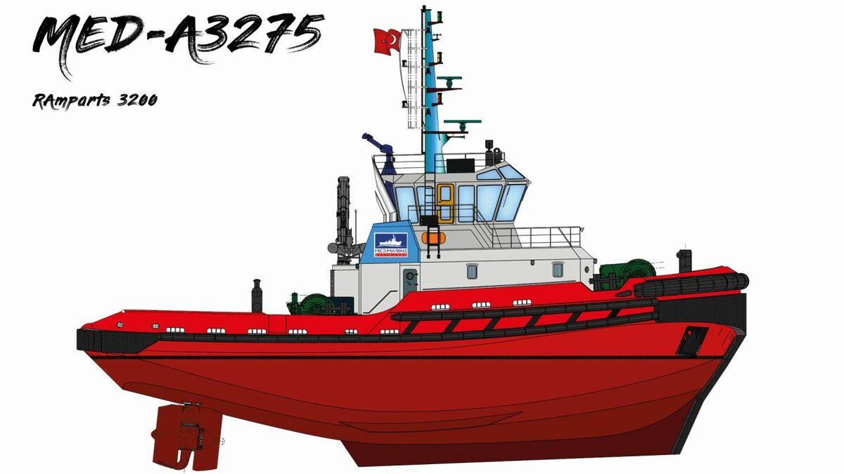 Design for Med Marine's latest escort tug