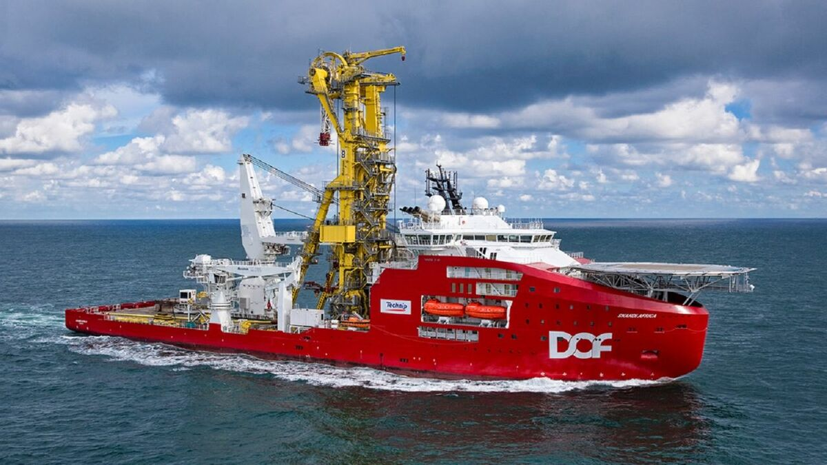 Skandi Africa: a member of the DOF fleet. DOF signed Optimarin to supply BWTS to up to 50 vessels