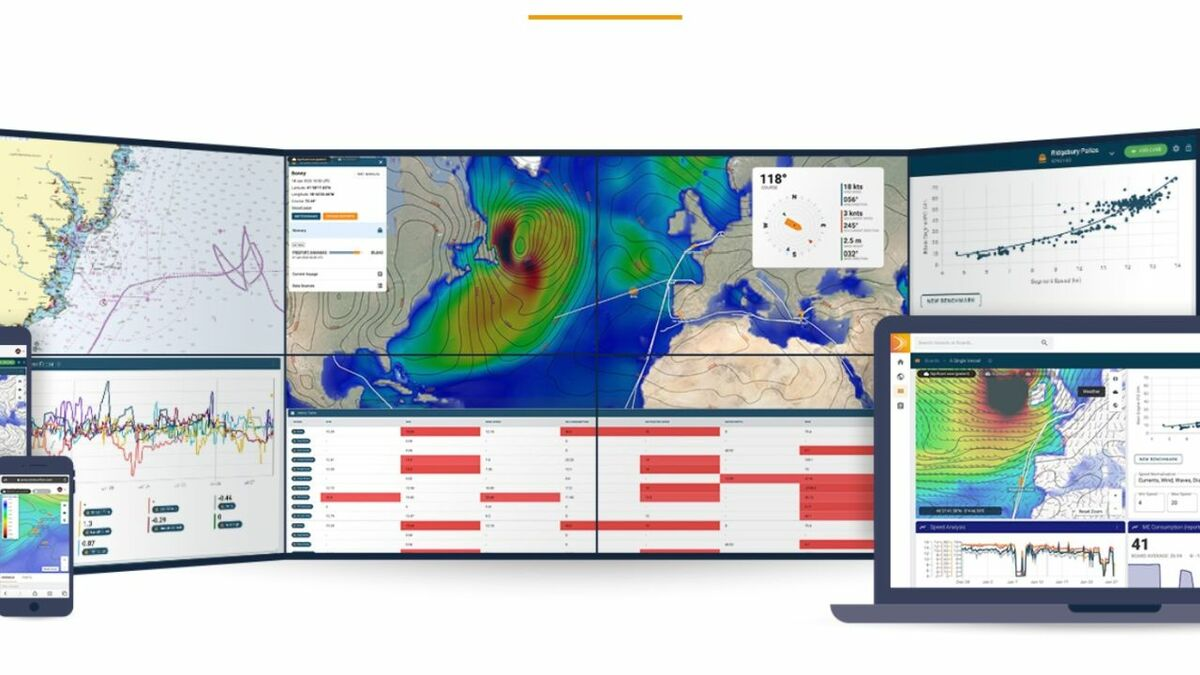StratumFive acquired voyage planning services with FleetWeather