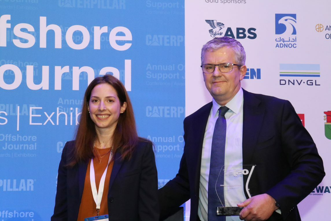 Maersk Supply clinches 2020 OSJ Environment Award