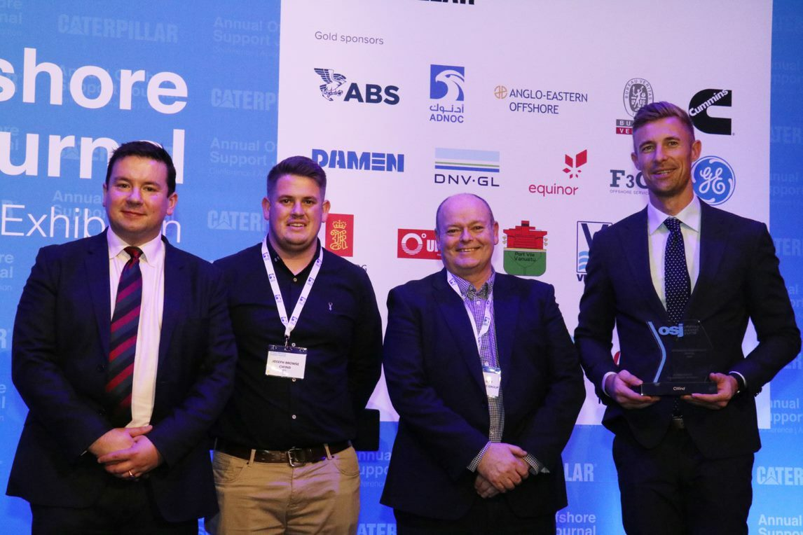 Offshore renewables award recognises green and efficient CTV design
