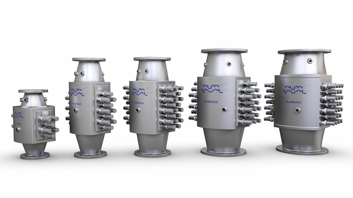 Soon the whole family of Alfa Laval PureBallast BWMS will legal in the US (source: Alfa Laval)