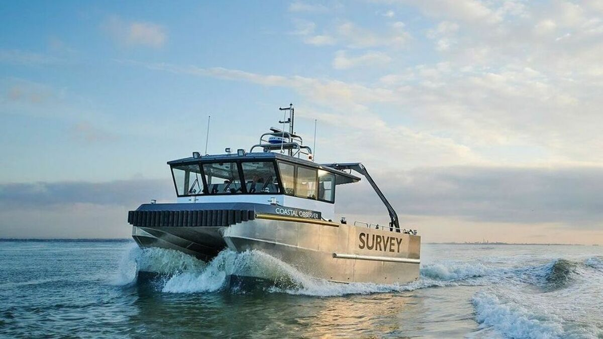 Chartwell's new survey vessel can operate in shallow or deeper water