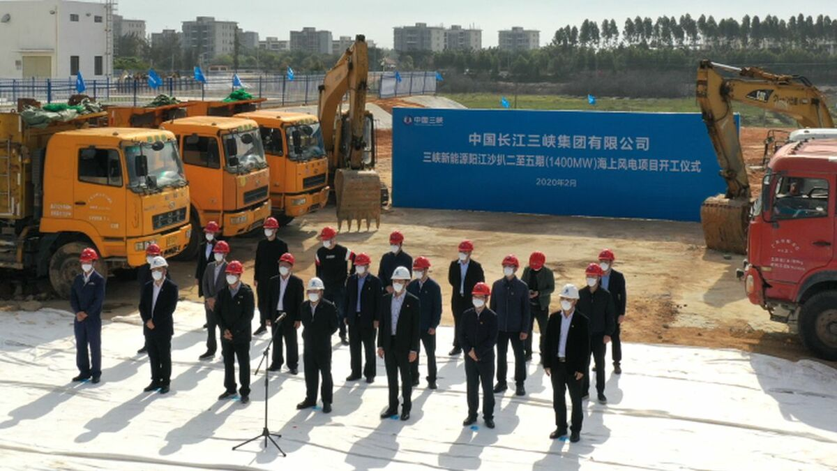 A 'kick-off ceremony' took place for the massive projects on 25 February 2020