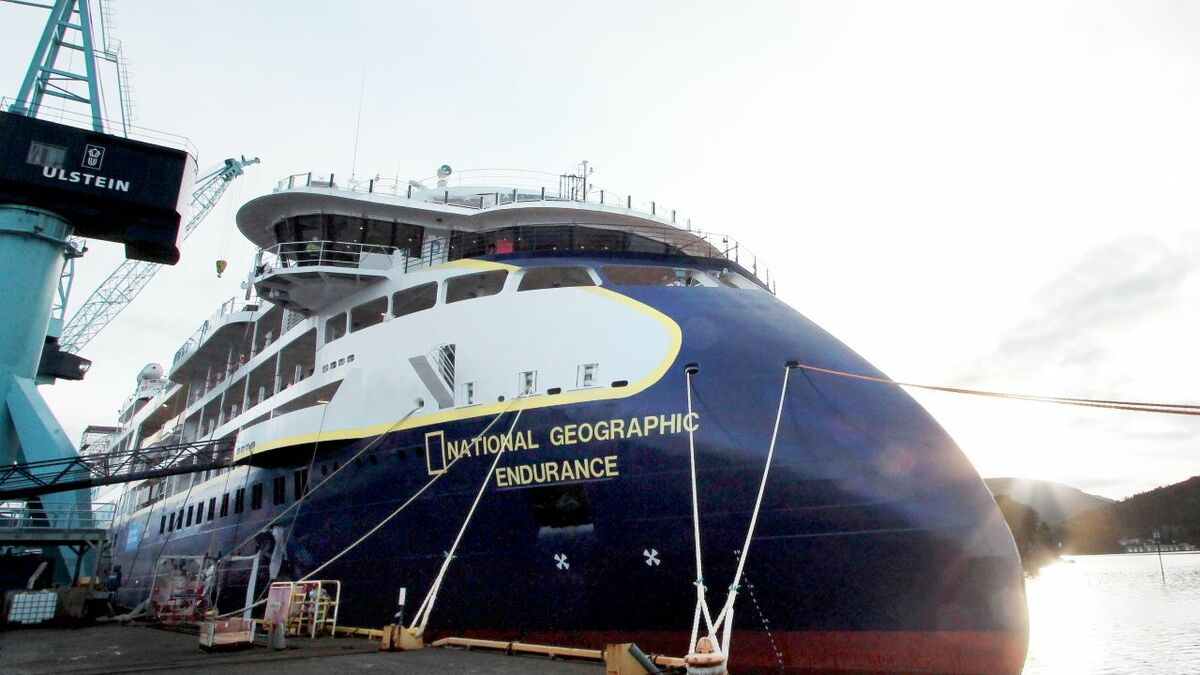 EZ-Path cable transits are being used on Lindblad Expedtitions' new ship (credit: Ulstein Verft)