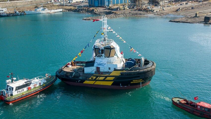 Turkish container port boosts tugboat fleet