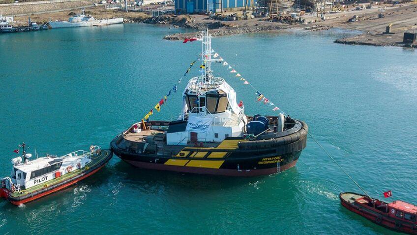 Turkish container port boosts tugboat fleet