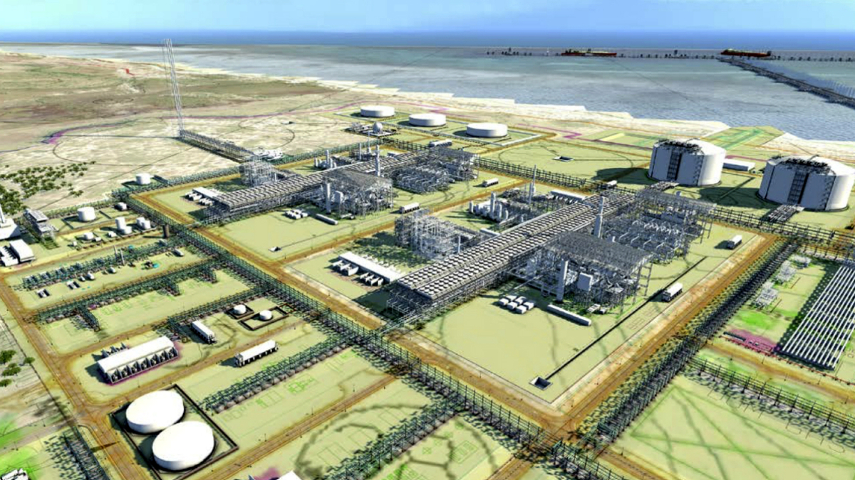Initially Mozambique LNG will have a total capacity of 12.88 mta (image: Mitsui)