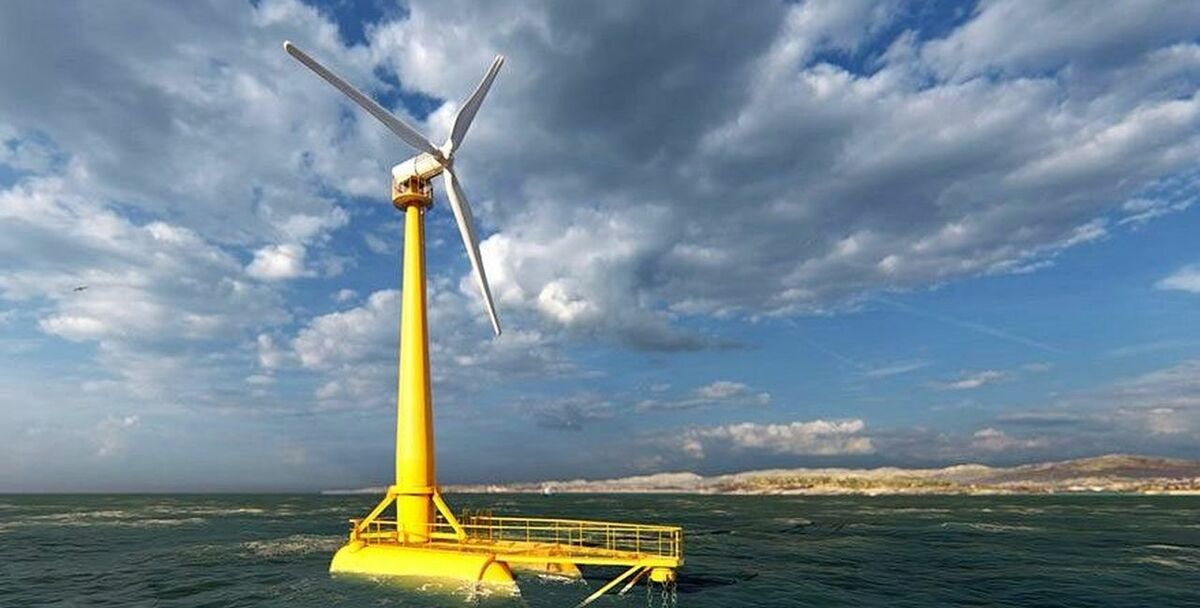 Several versions of the SATH floating wind concept have been proposed by Saitec