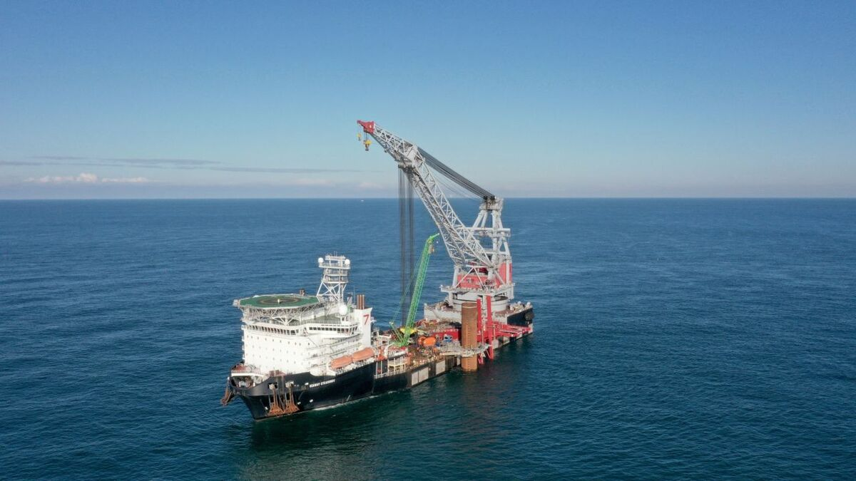 Subsea 7's chief executive said the foundations market is highly competitive