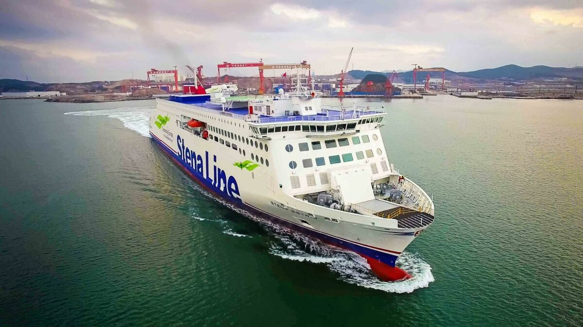 Stena Estrid was built at a Chinese shipyard