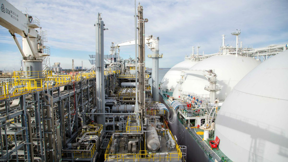 The third cargo was exported from Tango FLNG to Spain in December