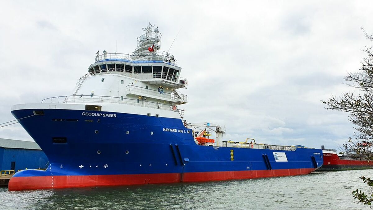 Geoquip Speer is one of two geotechnical vessels the company has added to its fleet