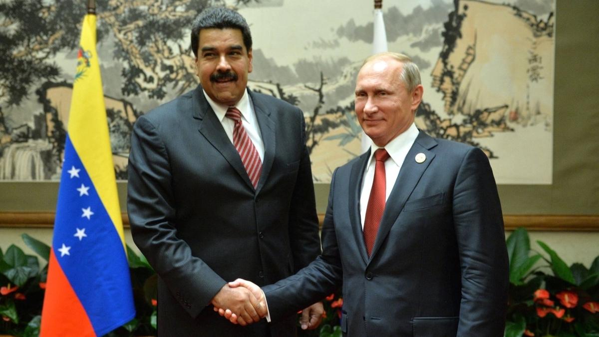 OFAC sanction: Venezuela's embattled president Nicolás Maduro and Russian president Vladimir Putin