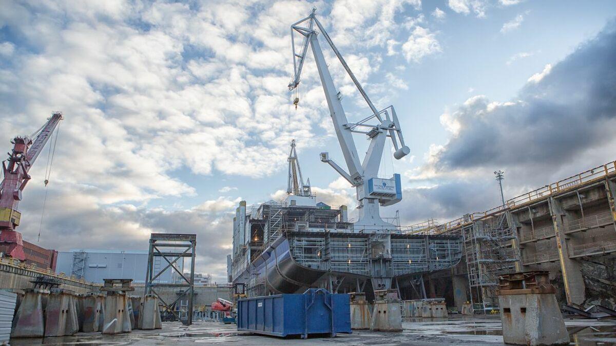 Rauma shipyard will begin construction Q1 2021 (credit: RMC)