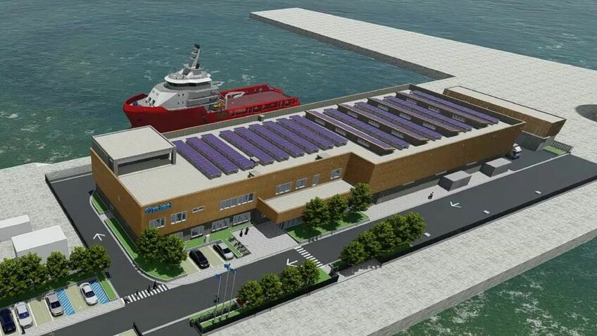 Ørsted will use the new base for construction and O&M