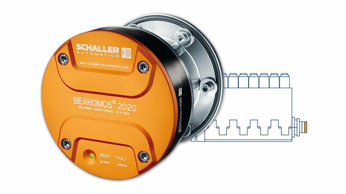 One sensor is enough to monitor the crankshaft's main bearings