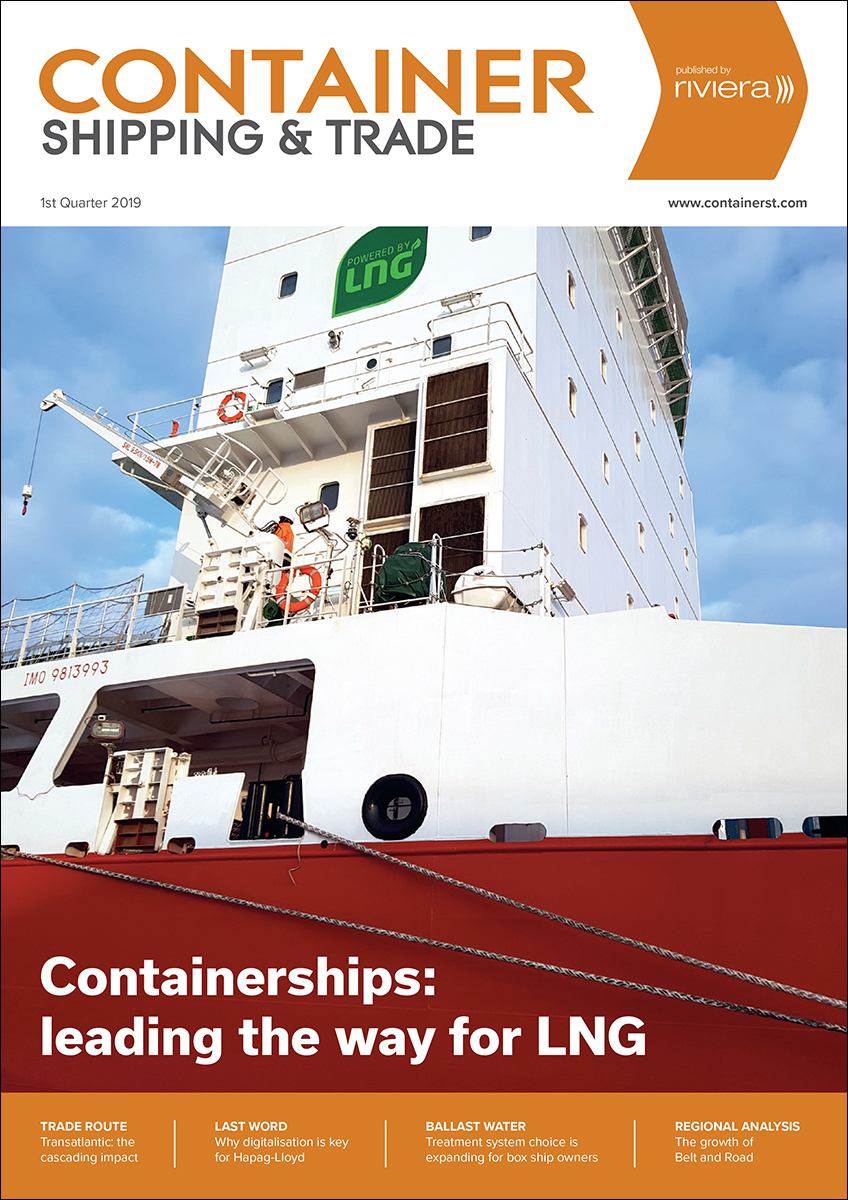 Container Shipping & Trade 1st Quarter 2019