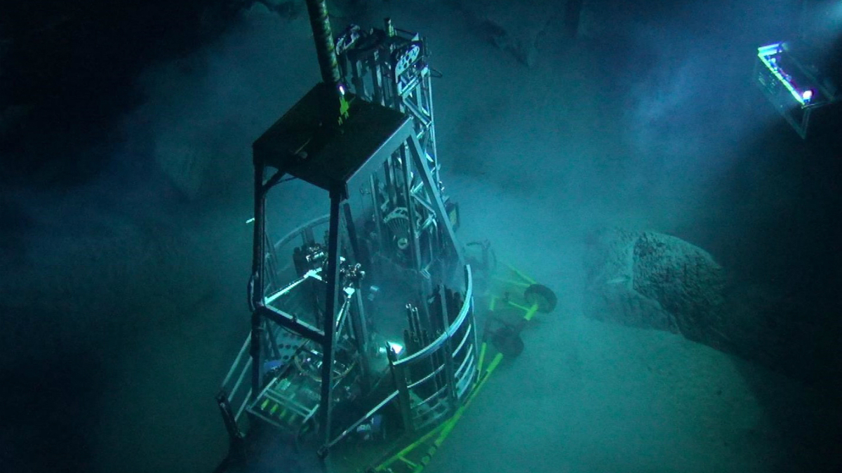 Deployed from OSVs, Fugro's robotic seafloor drill will aid in gathering critical geo-data