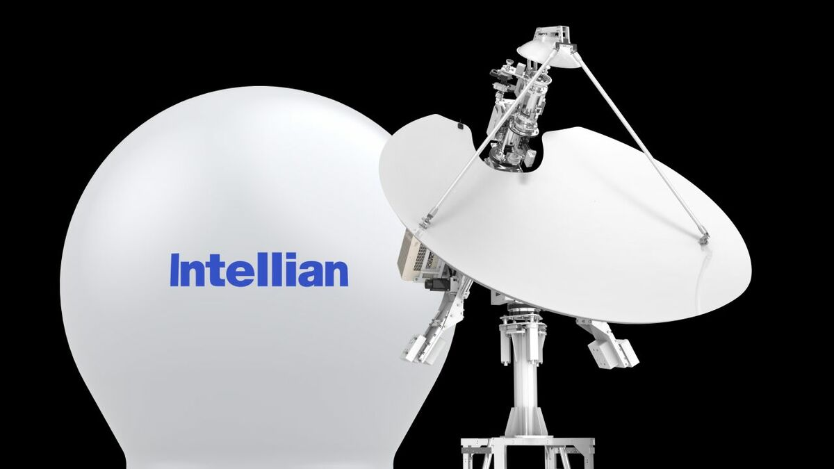 Intellian v24oMT Gen-II multi-band and multi-orbit antenna