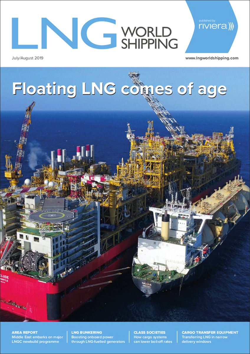 LNG World Shipping July/August 2019