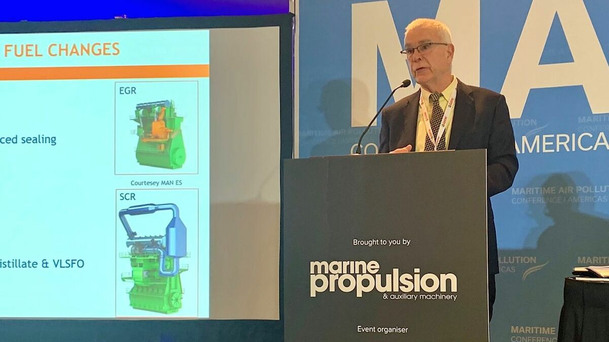 Don Gregory (Gulf Oil Marine): cylinder oil production is likely to shift from cost to performance