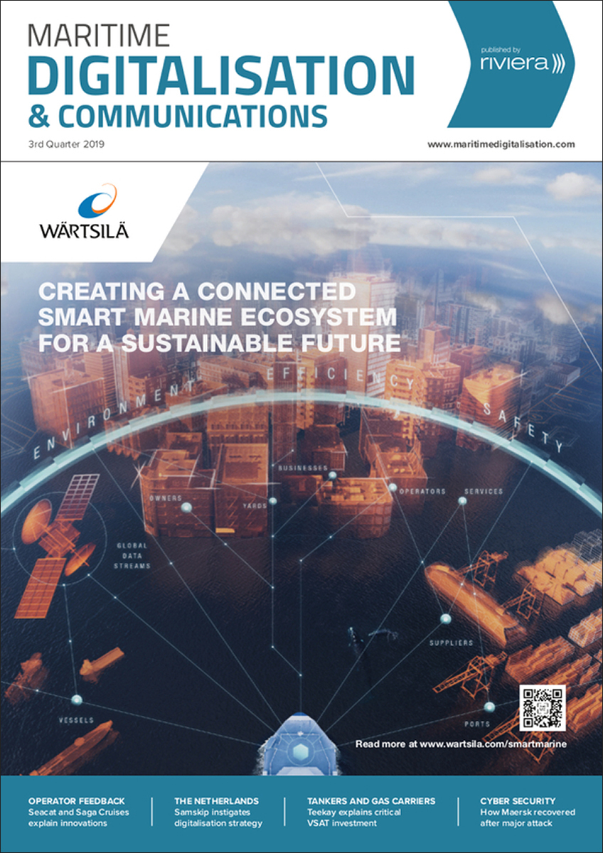 Maritime Digitalisation & Communications 3rd Quarter 2019
