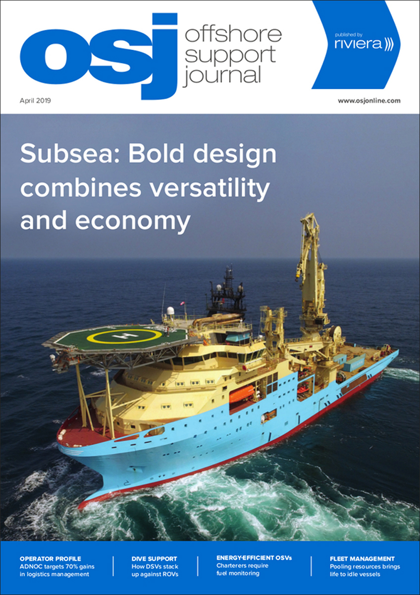 Offshore Support Journal April 2019