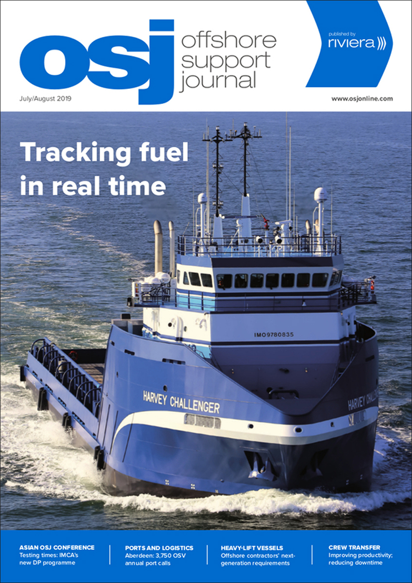 Offshore Support Journal July/August 2019