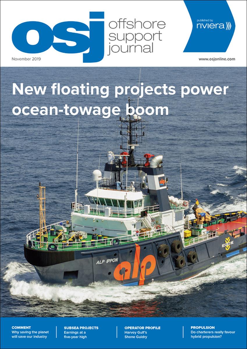 Offshore Support Journal November 2019