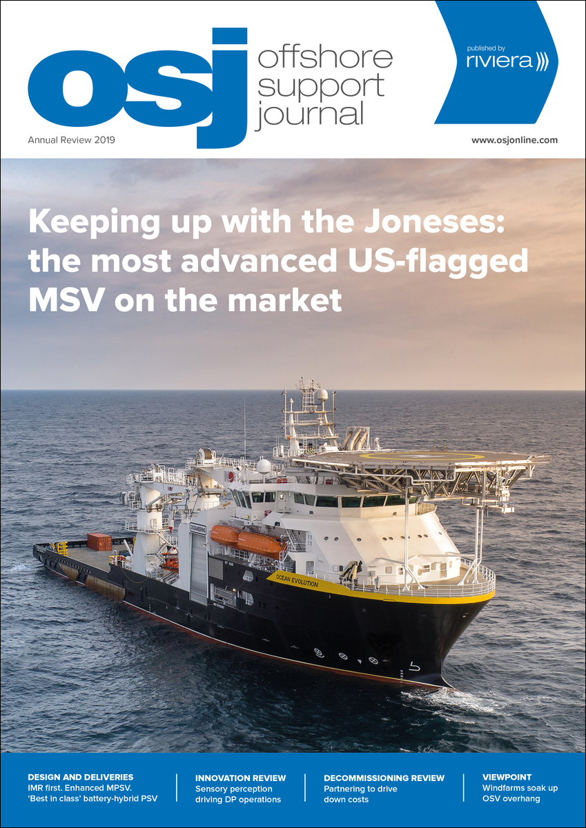 Offshore Support Journal October 2019, Annual Review
