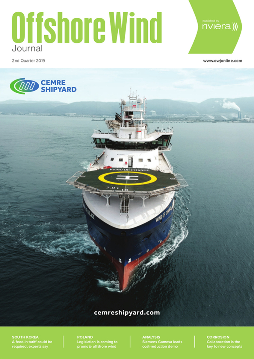 Offshore Wind Journal 2nd Quarter 2019