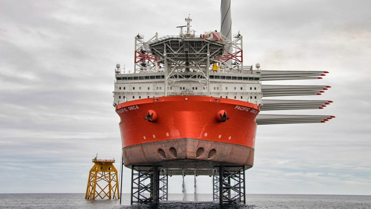 Pacific Orca will be assigned to the Hornsea 2 offshore wind project in early 2021