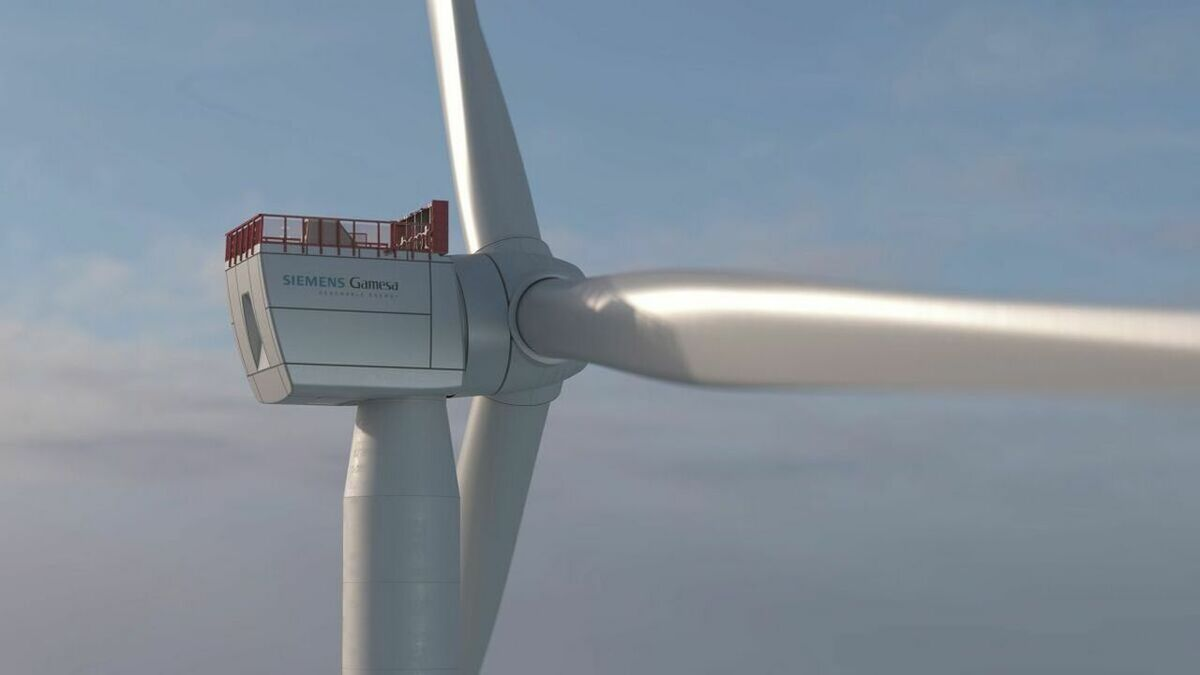 Siemens Gamesa's 11-MW blade has been selected for two German offshore wind projects