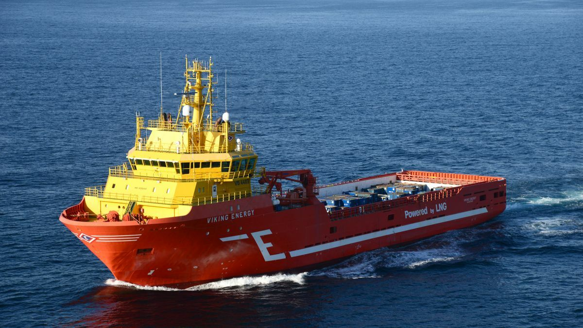 Yara will supply ammonia for offshore support vessel Viking Energy (Image: Eidesvik Offshore)