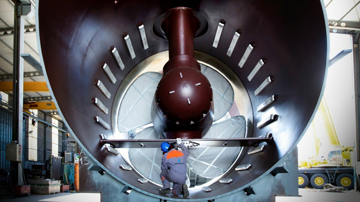 Wärtsilä's latest transverse thrusters have struck a chord with the cruise ship industry