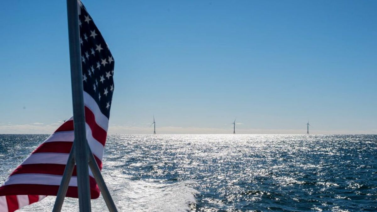 Offshore wind could deliver US$25Bn in annual economic output by 2030 (photo: Brooke Carney/NOAA)