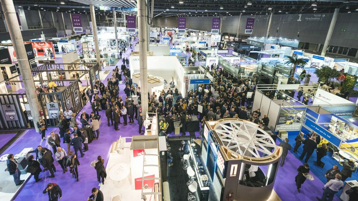 Cruise Ship Interiors Expo Europe had over 150 exhibitors and 2,000 plus attendees