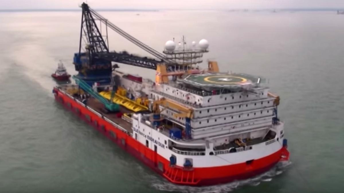 Vessel acquisition enhances Saipem's pipelaying capabilities