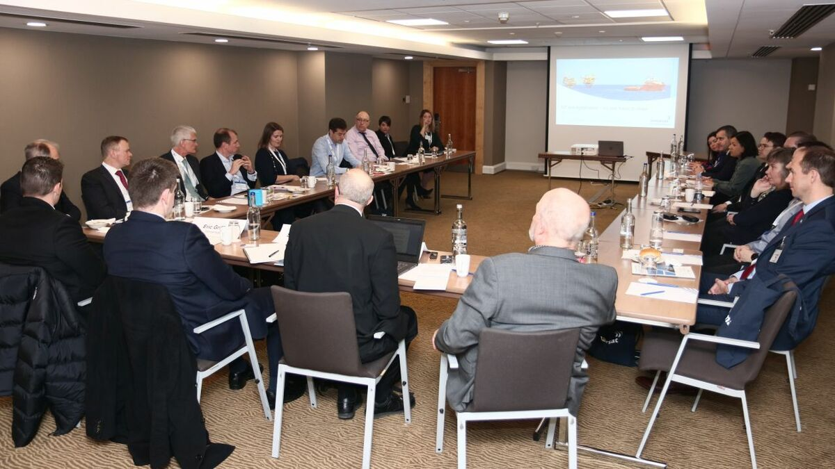 Vessel owners and charterers discuss key connectivity challenges at the Inmarsat/Riviera roundtable