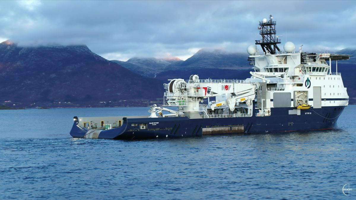 Island Victory will be deployed under charters to the Barents Sea and Gulf of Mexico