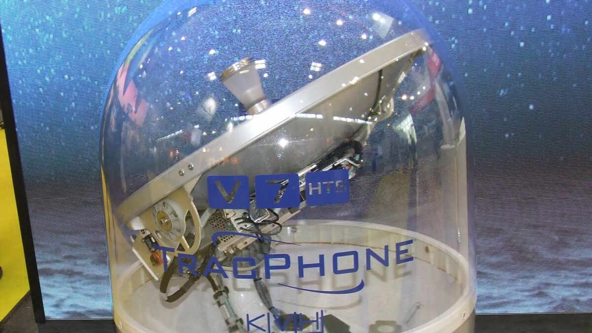 TracPhone V7-HTS antenna provides connectivity for crew welfare