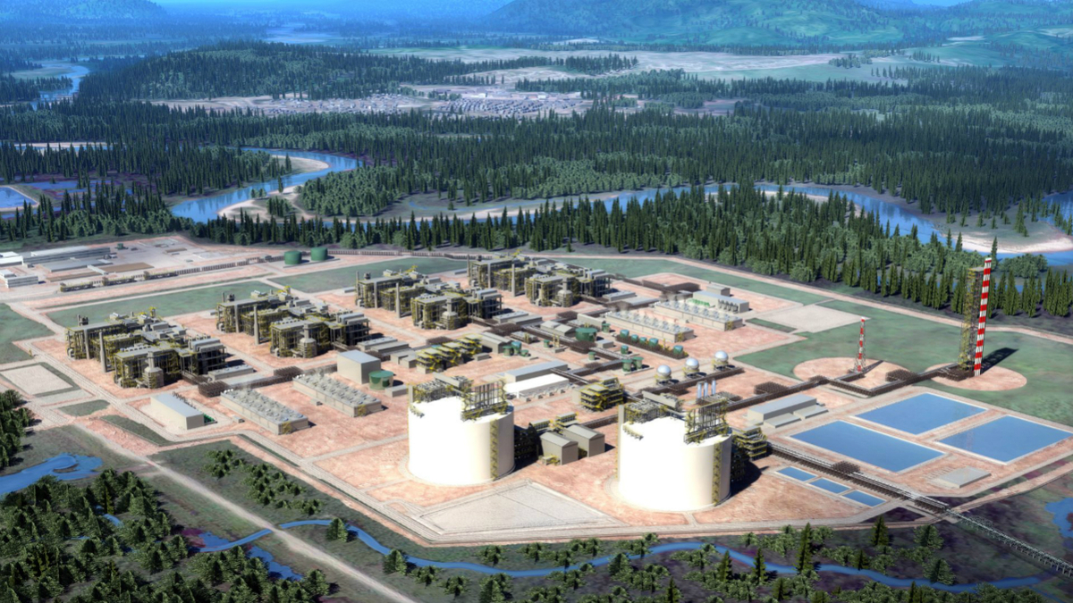 LNG Canada is one the largest infrastructure projects ever in Canada